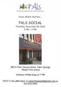 PALS LGBT Social Palm Springs